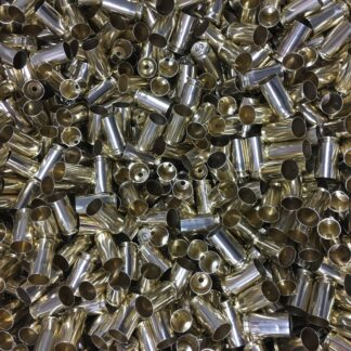 polished once fired .380 acp reloading brass